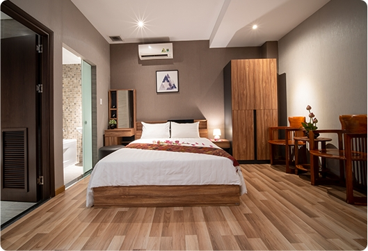 Serviced apartment for rent by month