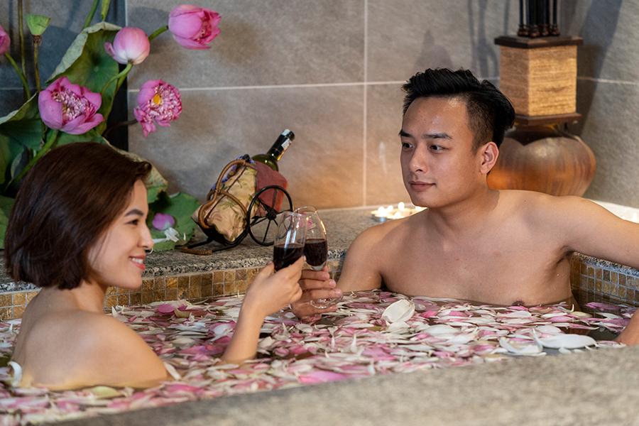 SEN Romance -Dịch vụ xông hơi massage cặp đôi (3.5h)