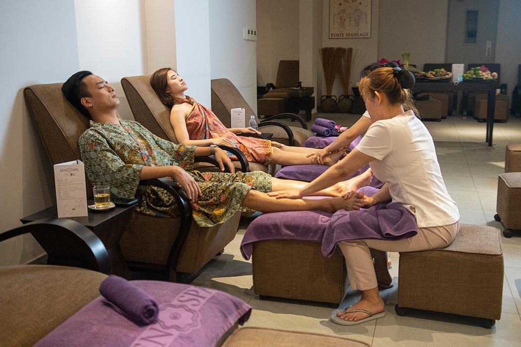 Phục hồi sức sống cho đôi bàn chân (30 phút)