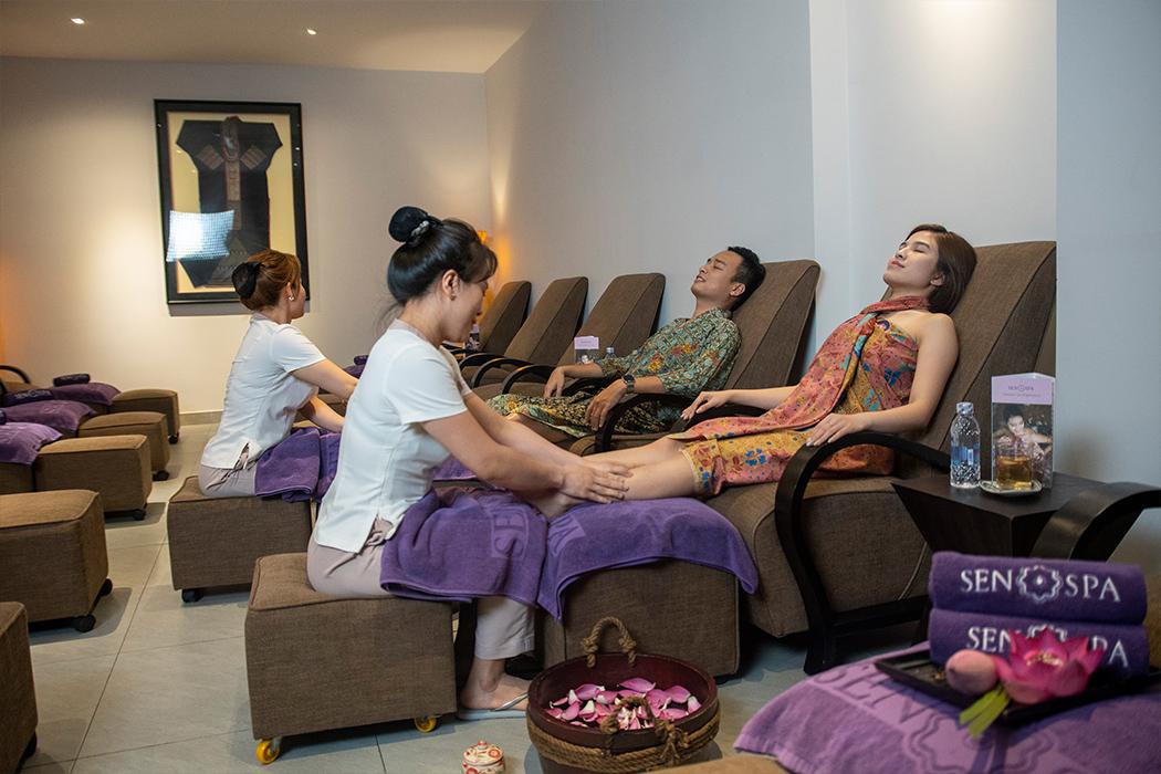 Liệu pháp thư giãn cho toàn đôi chân (45 phút)
