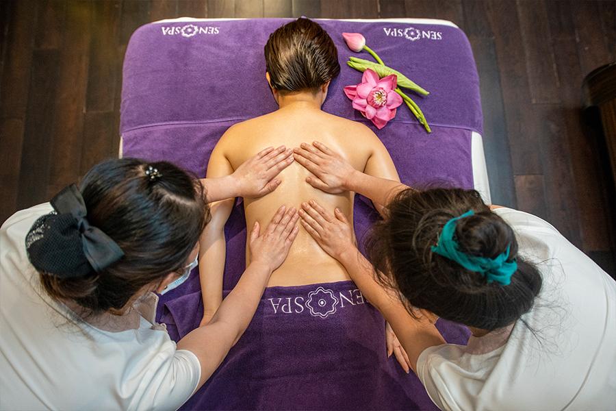 Massage bốn tay (75 phút)